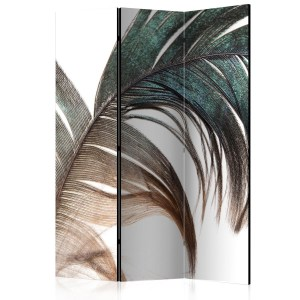 pol-a1-paravent1011_1 ΔΙΑΧΩΡΙΣΤΙΚΟ ΜΕ 3 ΤΜΗΜΑΤΑ - BEAUTIFUL FEATHER [ROOM DIVIDERS] 135X172